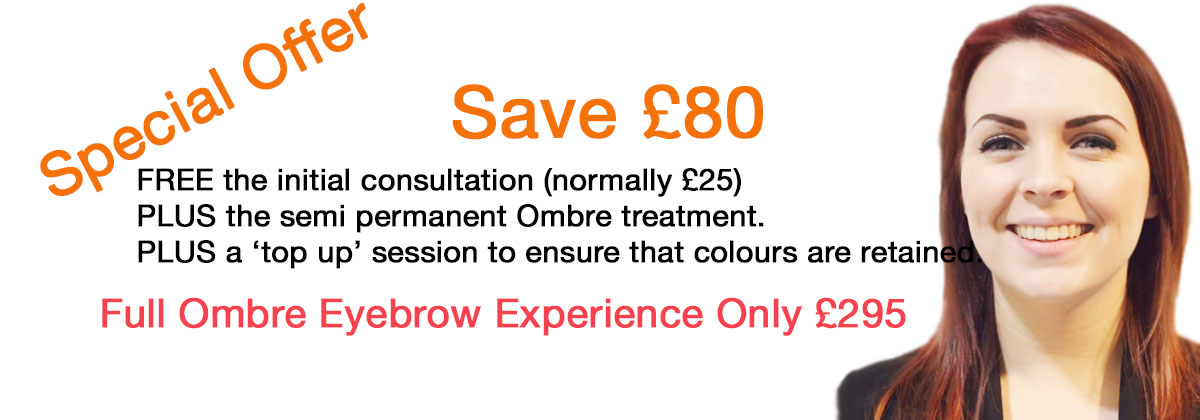 Ombre semi permanent offer May June 2016
